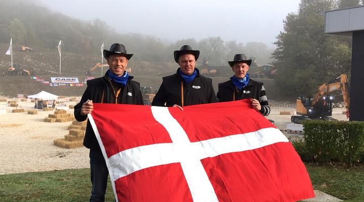 Team S.D. Kjærsgaard hiver medaljer hjem