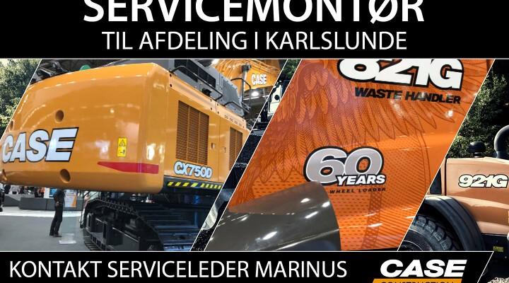 SDK søger servicemontør