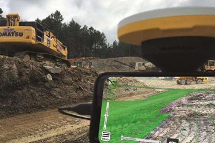 Trimble SiteVision - Augmented Reality