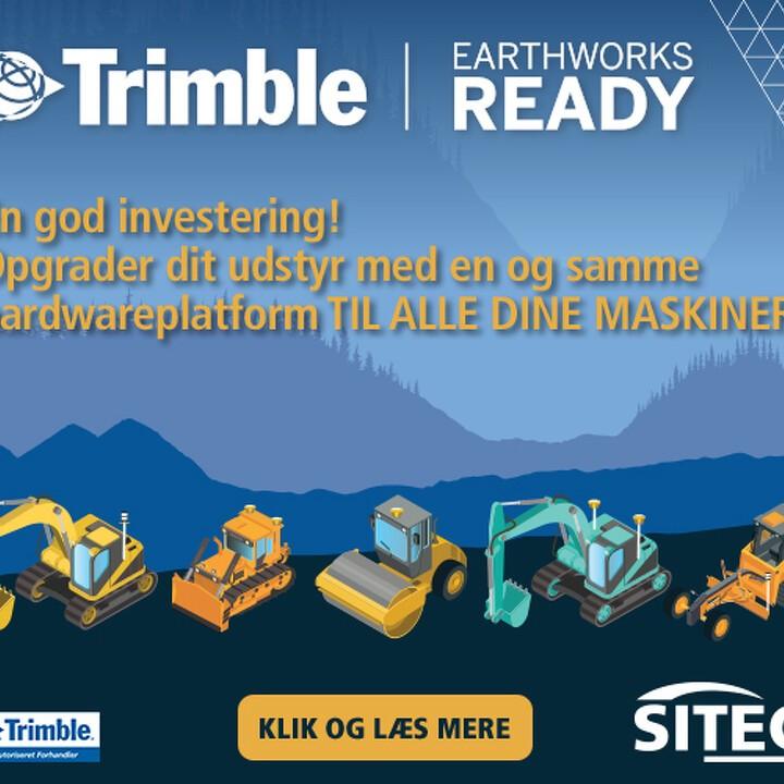 Trimble Earthworks Ready