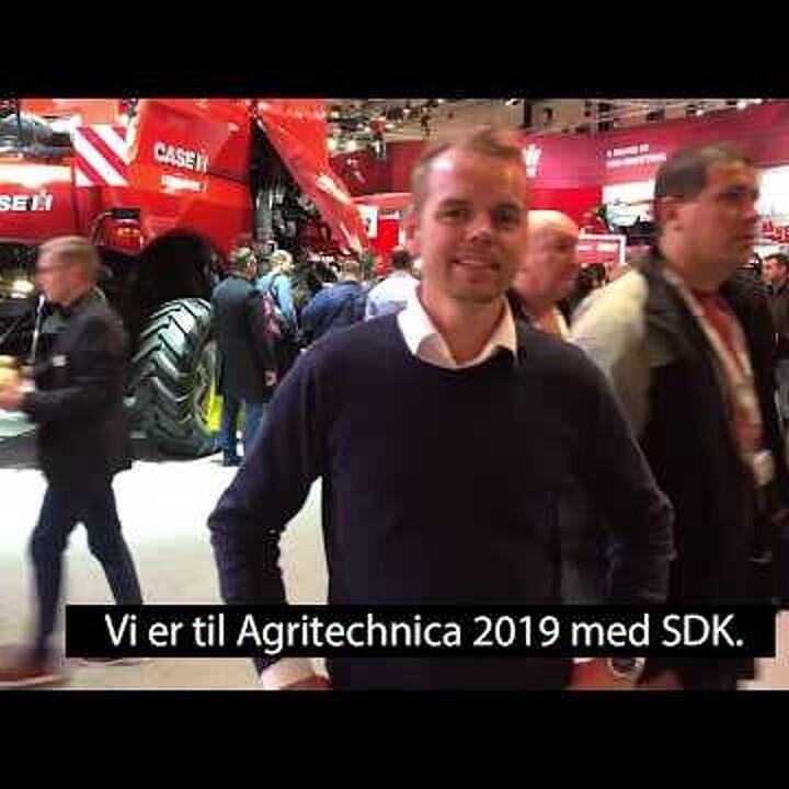 SDK indtager Agritechnica med 122 gæster