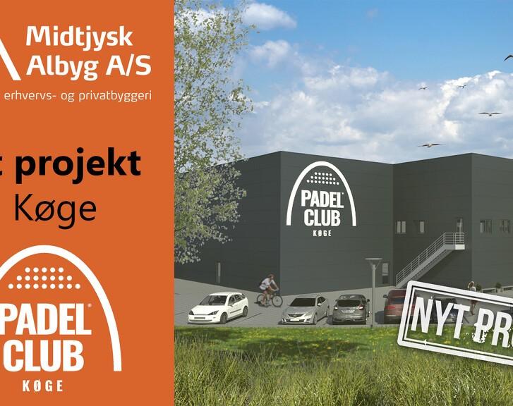 Stort Padelcenter i Køge