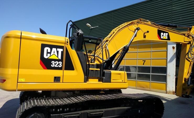 Pon Equipment afslører ny 25-tons graver