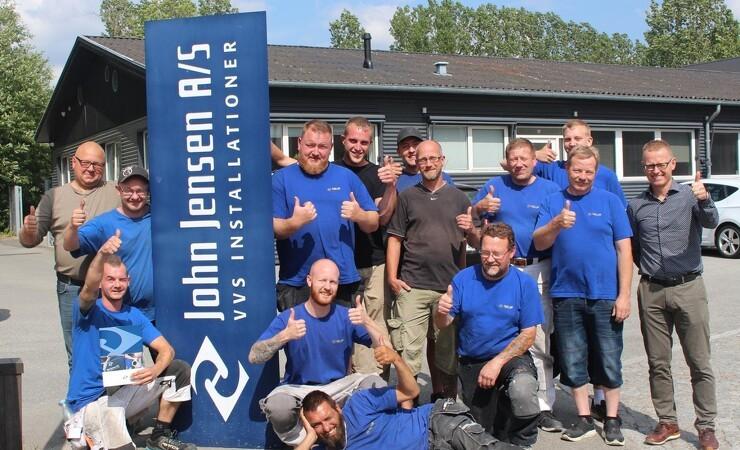 John Jensen VVS køber blikkenslagerfirma