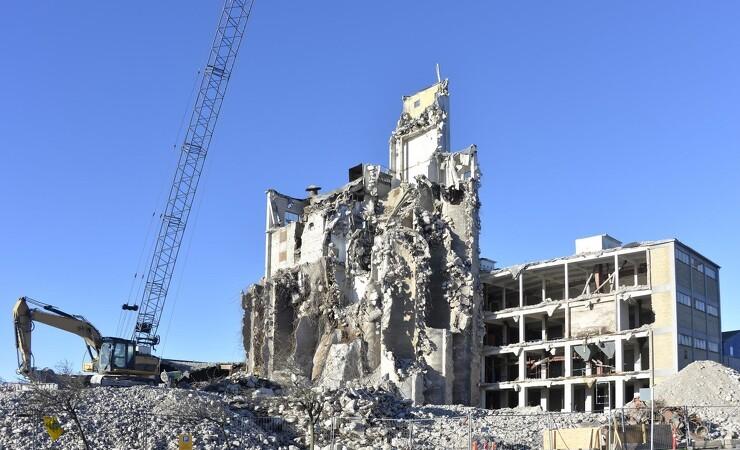 Boligforening chokeret over nedrivningsplan