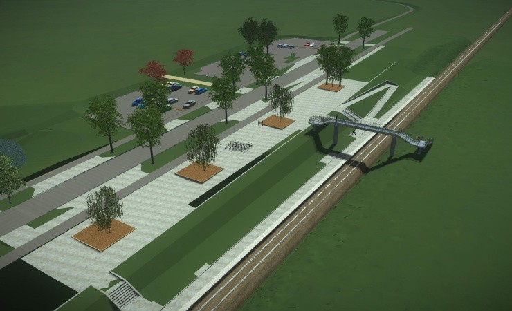 Nu begynder byggeriet af Kalundborg Øst Station