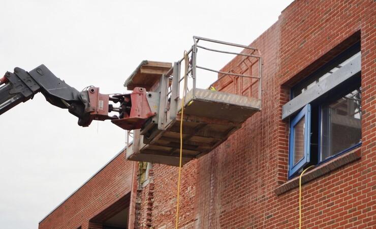 Gamle mursten får nyt liv i cirkulært byggeri
