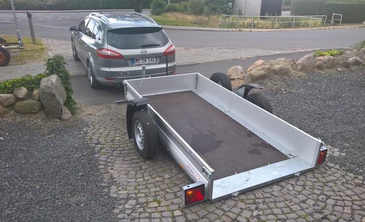 Fransk løsning letter af- og pålæsning af traileren