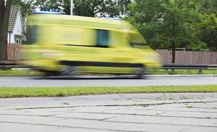 Alvorlig arbejdsulykke i Glostrup