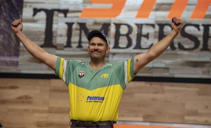 Australier tog overraskende guld ved TimbersportS-VM