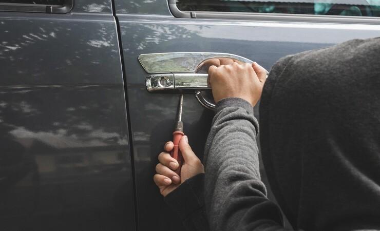 Få håndværkere bremser tyveri fra varebilen