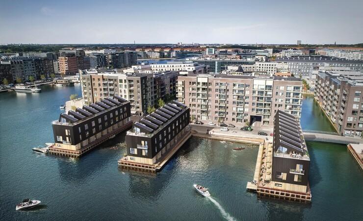 45 nye eksklusive boliger ved vandet i København