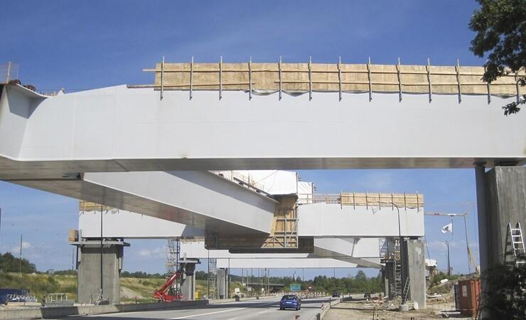 Konstruktionsprisen går til jernbanebro