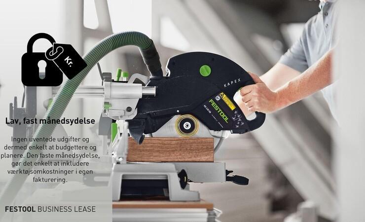 Festool lancerer nyt leasingkoncept til danske håndværkere