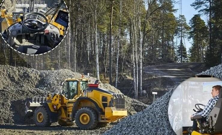 Sveriges første entreprenørmaskine er kommet på 5G