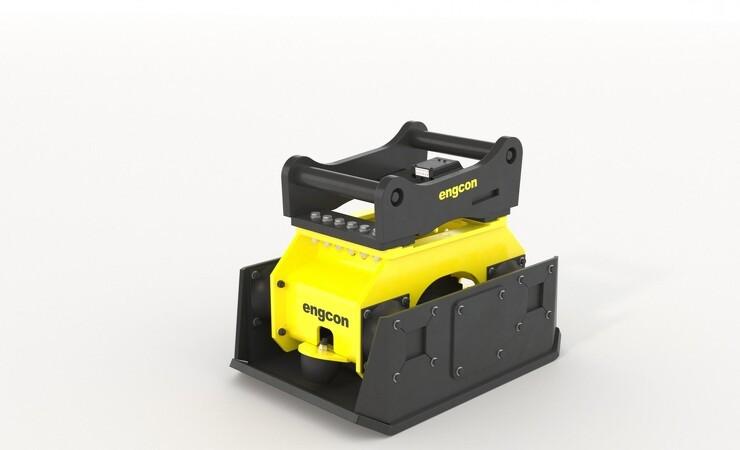 Engcon lancerer ny serie af pladevibratorer