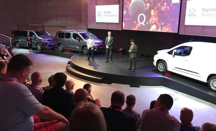 Toyota opretter varebil-sektion og satser på ren eldrift