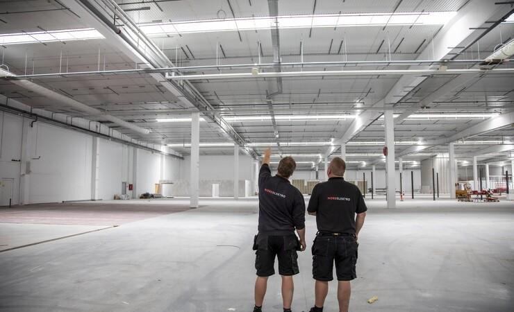 11.500 kvadratmeter oplevelsescenter spækkes med teknik