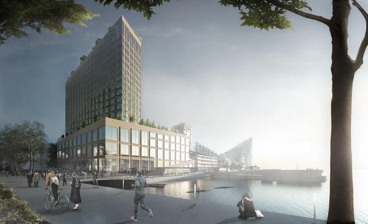 Aarsleff skal bygge BIG-hotel på Aarhus Ø