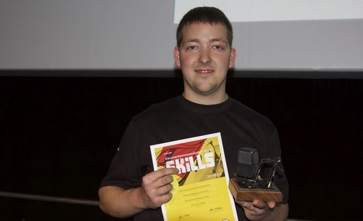 Mikkel vinder DBL: - Jeg har det mega fedt!