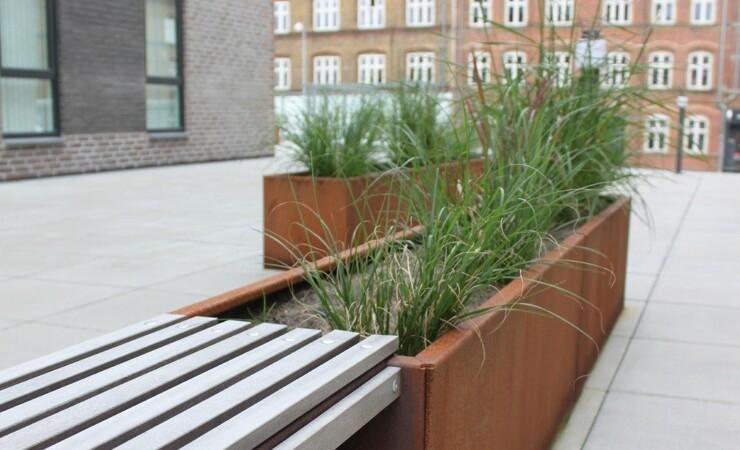 Grønne bede og natur fylder mere i byggeriet