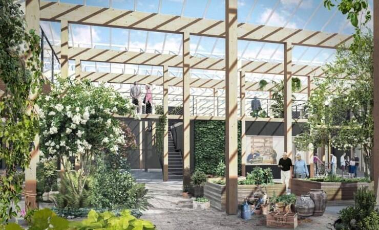 Se Danmarks første seniorvenlige boligfællesskab bygget i træ