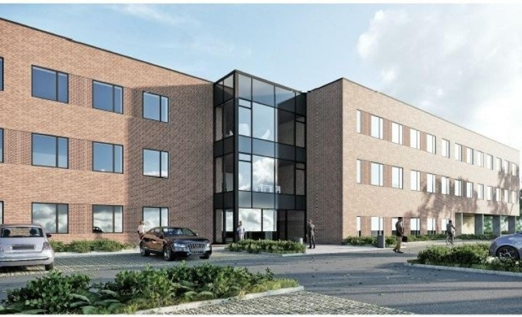 Energi Danmark tager første spadestik til Omega Company House i Skejby