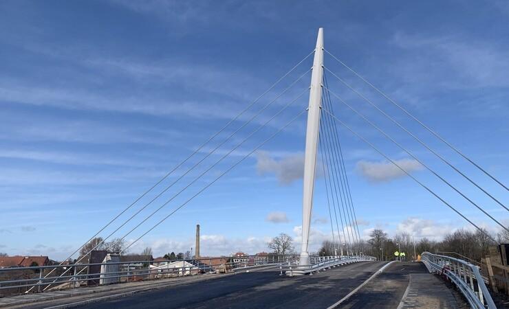 Nærhedens ny bro åbner fredag