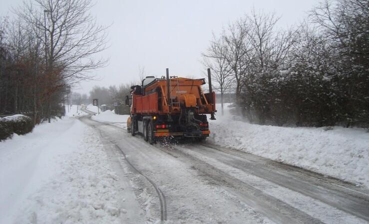 Milde vintre sender Vejdirektoratets saltforbrug helt i bund