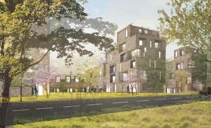 Svanemærkede boliger bliver del af nyt grønt område i Vallensbæk