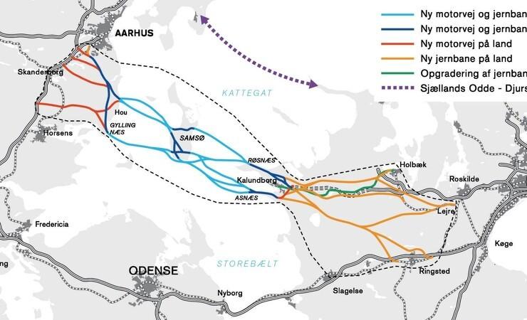 Cowi vinder nye opgaver om Kattegatforbindelsen