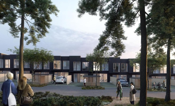Casa skal bygge 173 boliger for AKF Koncernen i Nærheden