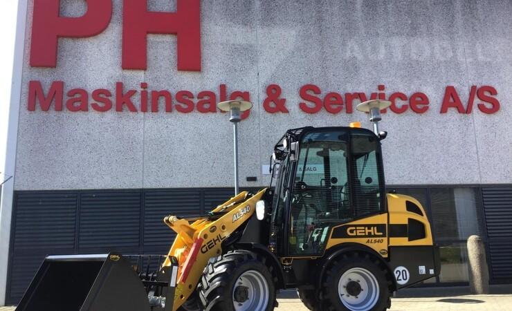 PH Maskinsalg & Service er ny Gehl-forhandler