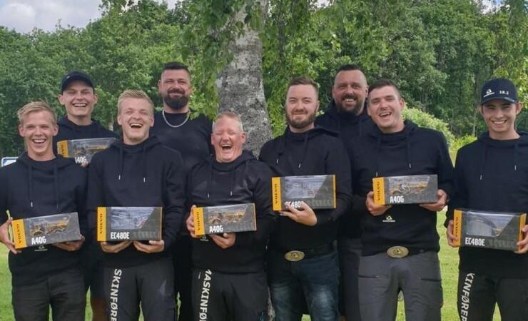 Nyt hold maskinførere fra Ulfborg Kjærgaard