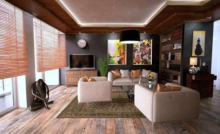 Bambusmøbler givet lyst og let look i stuen