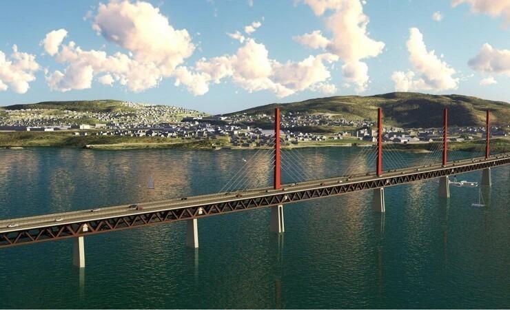 Norge får motorvejsbro i træ