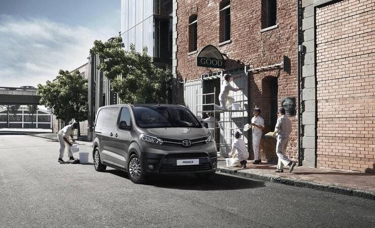 Toyota lancerer ny form for fleksibel leje af PROACE