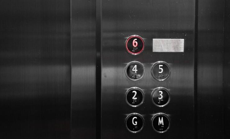 Lejlighed med elevator