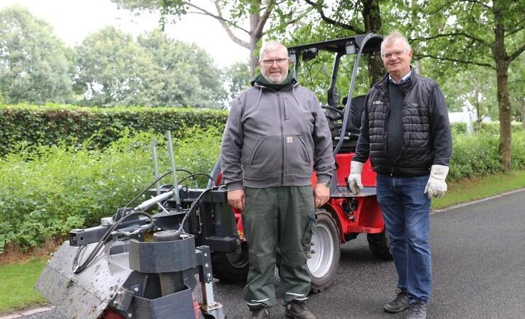 Egekirkegården har fået mere el-maskinel
