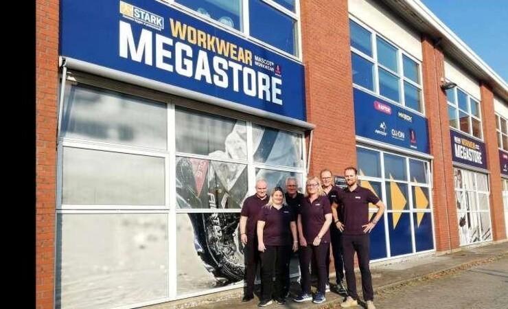 Stark åbner stor forretning for arbejdstøj i Odense