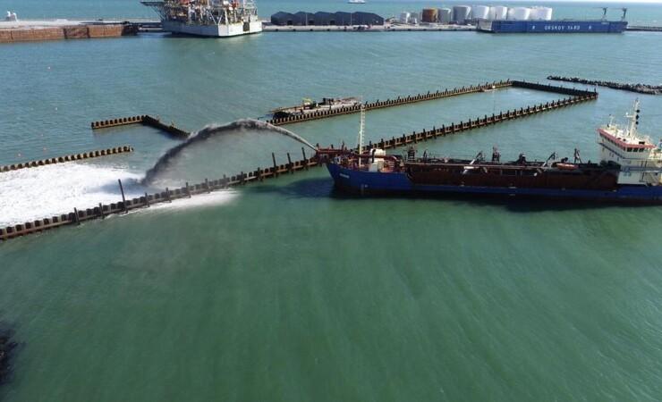 Havneudvidelse i Sæby i gang til november
