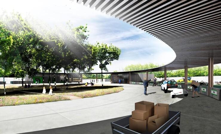 Dan Jord vinder udbud om Aarhus' nye genbrugsstation