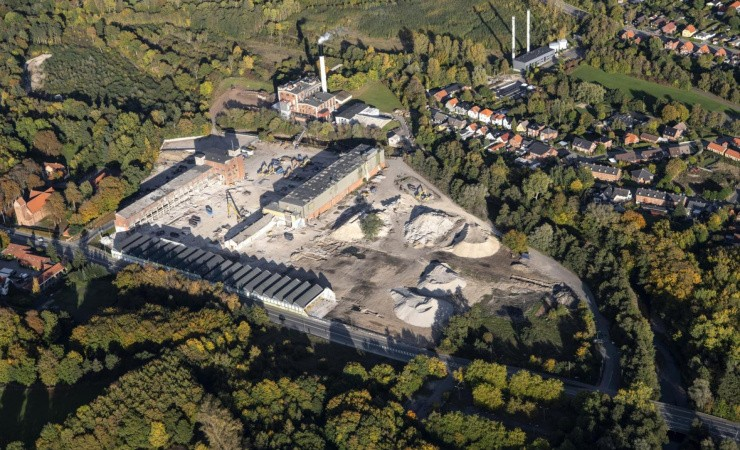 Dalum Papirfabrik forener industriel arkitektur med moderne funktionalitet