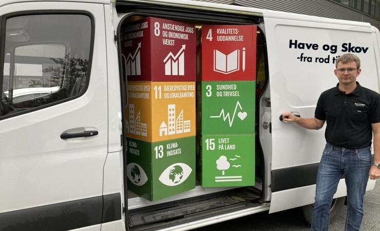 Fynsk firma fokuserer på fem verdensmål