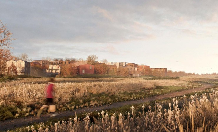 Firkløver bygger alment træbyggeri i ny bydel