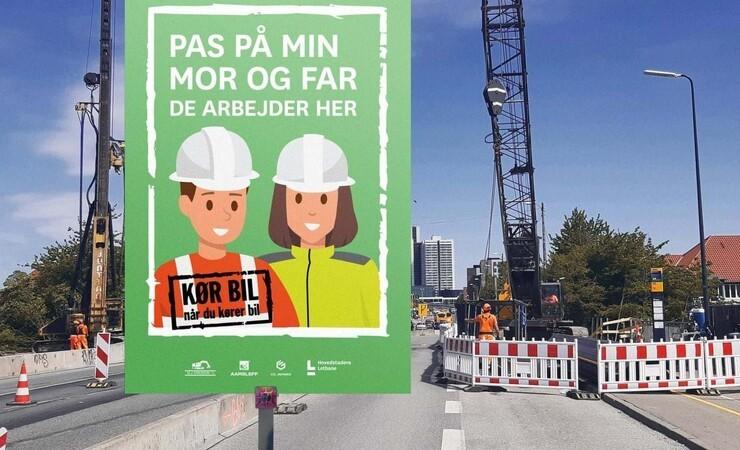 Trafiksikkerheden skal øges ved letbanens byggepladser