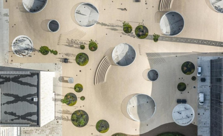 Cobe vinder Dezeen Award for landskabsprojekt