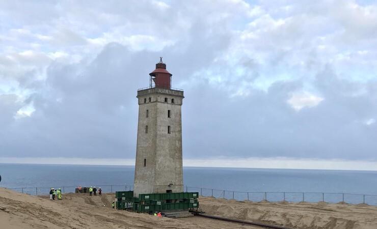 Sandfygning truer Rubjerg Knude Fyr