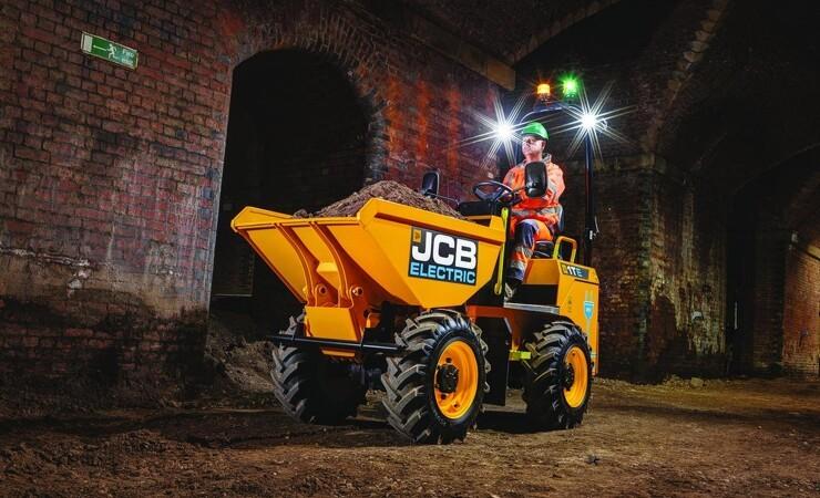 JCB udvider det elektriske program
