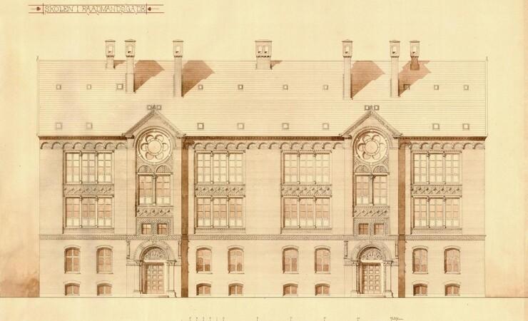 Gammelt arkiv gemte på arkitekt-skat